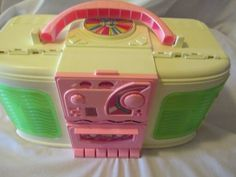 Barbie Boom Box House - Working radio - Looks like boom box - Opens to house -
