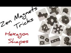Playing with magnetic balls is an endless game. There are so many shapes and tricks you can make that you can never get bored. Cool Shapes, Different Shapes, Hexagon Shape, Balls, Cube, Magnets, Make It Yourself, Youtube, Youtubers