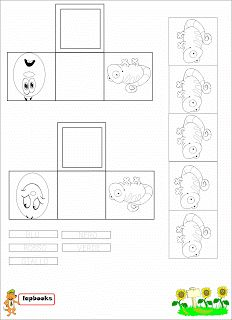 A Scuola con Poldo: Lapbook: I colori del Camaleonte