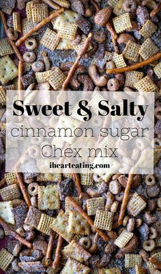 Sweet & Salty Cinnamon Sugar Chex Mix
