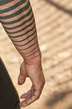 """Zebra Skin."" Muscle sleeve. Tattoo, body art."