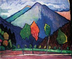 Gabriele Münter - Landschaft