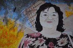 Ruth Patchett SHE DEVIL Roseanne Barr by jillpetersenart on Etsy
