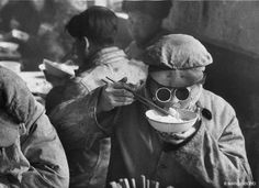 Steel factory, Liaoning, Anshan, 1957 by Marc Riboud