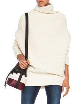 ACNE STUDIOS- Galactic Wool Sweater in White