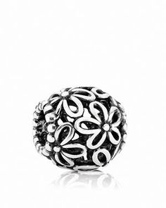 Pandora Charm - Sterling Silver Wildflower Walk, Moments Collection