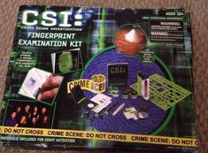 CSI: Fingerprint Examination Kit for kids included fingerprint dust that contained up to 7% tremolite one of the most dangerous forms of asbestos.