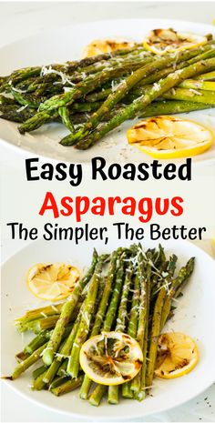 This Roasted Asparagus recipe is the easiest quick side for busy weeknights, is very delicious and healthy. This simple to make vegetable dish is low-fat, low carb and perfect for keto diets. Plus its made with just a few simple ingredients: olive oil, g Healthy Vegan Snacks, Healthy Juices, Healthy Recipes, Vegetable Recipes, Healthy Eating, Veggie Asparagus Recipes, Crockpot Recipes, Vegetable Sides, Vegetable Dish
