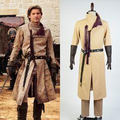 Game of Thrones Kingslayer/Jaime Lannister Cosplay Costume For Men //Price: $183.97 & FREE Shipping //     #robbstark #motherofdragons #grrm #housestark #books  #winterfell #jaimelannister #westeros