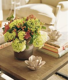 Staging your coffee table to help sell your house