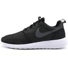 Nike Roshe Run Men Running Shoes Dark Loden/Black-Dark Loden-Medium Turquoise LX44E