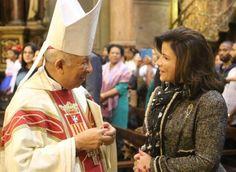 Vicepresidenta encabeza colocación Virgen de la Altagracia en iglesia de Barcelona