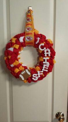 Chiefs wreath