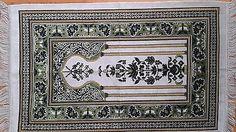 NewTurkish Islamic Prayer Rug Seccade Holy Carpet Mat Salat Musallah VELVET