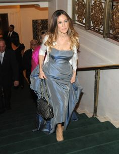 Sarah Jessica Parker in a Oscar de la Renta gown in 2012 - Carnegie Hall Medal Of Excellence Gala Honoring Bill Cunningham