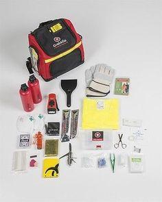 Original GRAB&GO™ EMERGENCY KIT 1 PERSON Backpack Disaster Survival Prepper bag