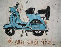 Meena Kadri: Meena Kadri's Collection of Indian Street Graphics