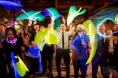 Glow sticks, why not? www.ryangreenphotography.com  Austin Wedding Photographers - photos by Ryan & Lindsey Green