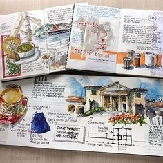 Liz Steel. Sharing a few strategies for achieving nor journal-like pages in my big A4 moleskine  Follow link in profile