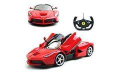 1/14 Scale Ferrari La Ferrari LaFerrari Radio Remote Control Model Car R/C RTR Open Doors (Color May Vary)  Toys & Game