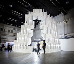 World Architecture Festival installation by Populous, London – UK » Retail Design Blog