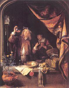 Gerrit Dou - De piskijker