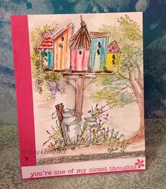 Art Impression watercolor card