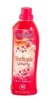 99p -  Enrituals Concentrated Fabric Softener 1 Litre Vitality   Up to 30 washes. Now with 20% more fragrance.