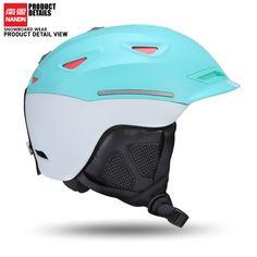 56.28$  Buy now - http://alikti.worldwells.pw/go.php?t=32752118278 - NANDN  Ski helmet Ultralight and Integrally-molded professional Snowboard helmet men Skating/Skateboard helmet