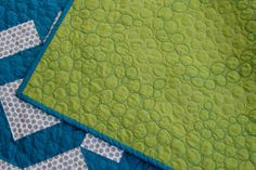 Love this for the quilting pattern!