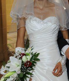 Robe de mariage de couleur ivoire