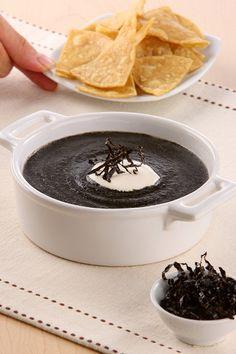 Sopa de cuitlacoche