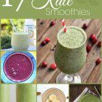 17+Delicious+Kale+Smoothies