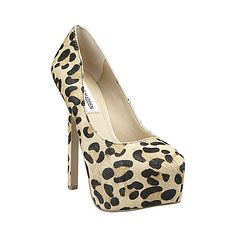 BABYLN-L LEOPARD women's dress high platform - Steve Madden  I purchased these yesterday and totally LOVE them!