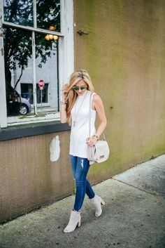 The Sleeveless Sweater Trend That Will Help You Survive Pre Fall Weather | A Pinch of Lovely | Southern Fashion & Style Blog