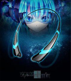 High Quality Anime Bluetooth Headsets Hatsune Miku Concept Wireless Earphones and Headphone Auricular Bluetooth Telefono Hatsune Miku, Neckband Headphones, Bluetooth, Technology Tools, Sound & Vision, Wish Shopping, Headset, Concept, Ebay