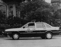 VW Santana: comum na Polícia Civil nos anos 80 - Arquivo SSP                                                                                                                                                                                 Mais