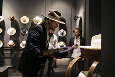 American hat maker Nick Fouquet.