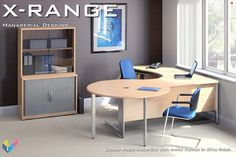 X-Range Executive Desk with Meeting Extension Furniture Showroom, Office Furniture, Office Desk, L Shaped Executive Desk, Contemporary Style, Corner Desk, Table, Design, Home Decor