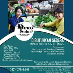 Walk In Interview PT. Dipro Solusi Bandung Juli 2017