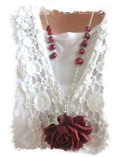 #burgundi #winered #rose #ruusukaulakoru #kesä