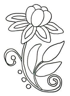 Wool Applique, Applique Patterns, Beading Patterns, Flower Patterns, Flower Designs, Flower Pattern Drawing, Stitch Patterns, Embroidery Designs, Beaded Embroidery
