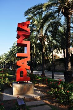 Palma de Mallorca. I am so excited to visit  Mallorca in August.