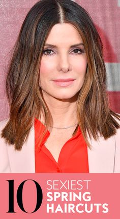 From romantic waves and bangs to long, blunt cuts, there's no shortage of hair inspiration in To help you find the right style for you, we rounded up 10 of the sexiest haircuts worth trying this spring. Haircuts For Curly Hair, Short Haircuts, Curly Hair Styles, Beauty Ideas, Beauty Tips, Hair Beauty, Hair Tips, Hair Hacks, Hair Inspo