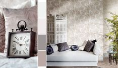 Company which specializes its production in wallpapers, wallcoverings and tissues. The CRISTIANA MASI brand is a mark of the designand the quality of our products. Modern Wallpaper, Modern Design, Throw Pillows, Bed, Furniture, Wallpapers, Home Decor, Christians, Toss Pillows