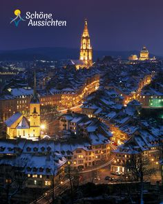 Bern, Schweizer Bundeshauptstadt an der Aare. Malerischer Blick ueber die Altstadt.  (c) swiss-image.ch/Christof Sonderegger