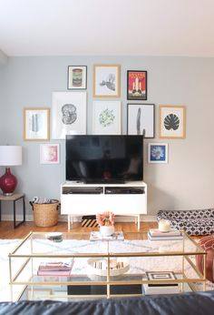 Home tour: gallery wall