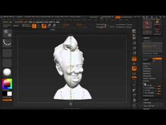ZBrush Tutorial Using the 3D Print Exporter - YouTube