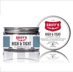 Groom like Griff and discover Man At His Best #Pomades #High&Tight
