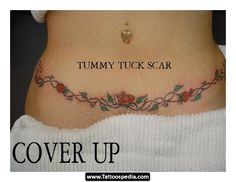 Tummy Tuck Scar Tattoos my next tattoo.